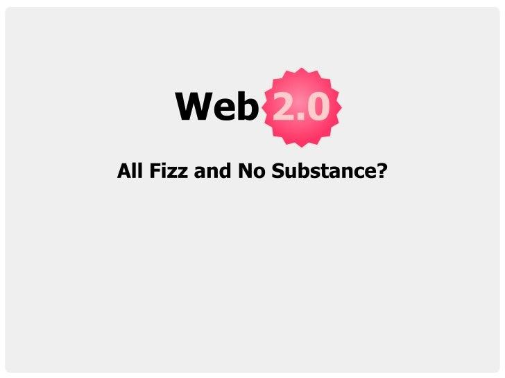 Webstock Web2.0 Debate