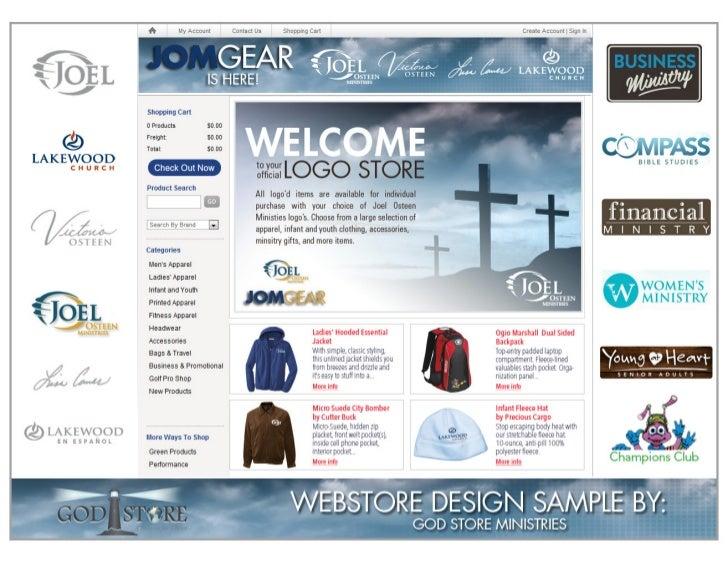 Webstore Design Gallery