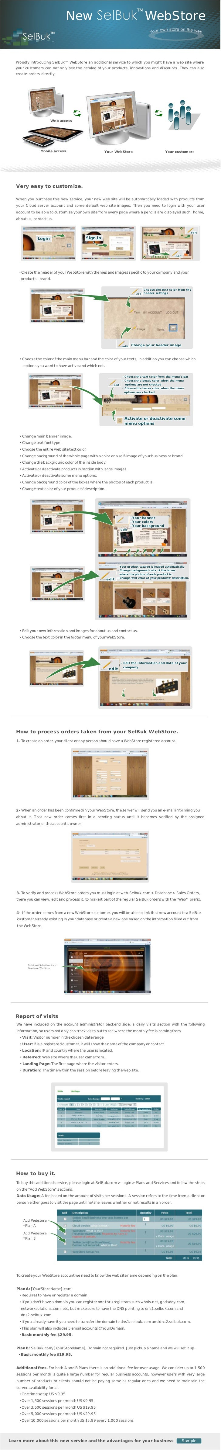 New                                                                            WebStore   Proudly introducing SelBuk™ WebS...