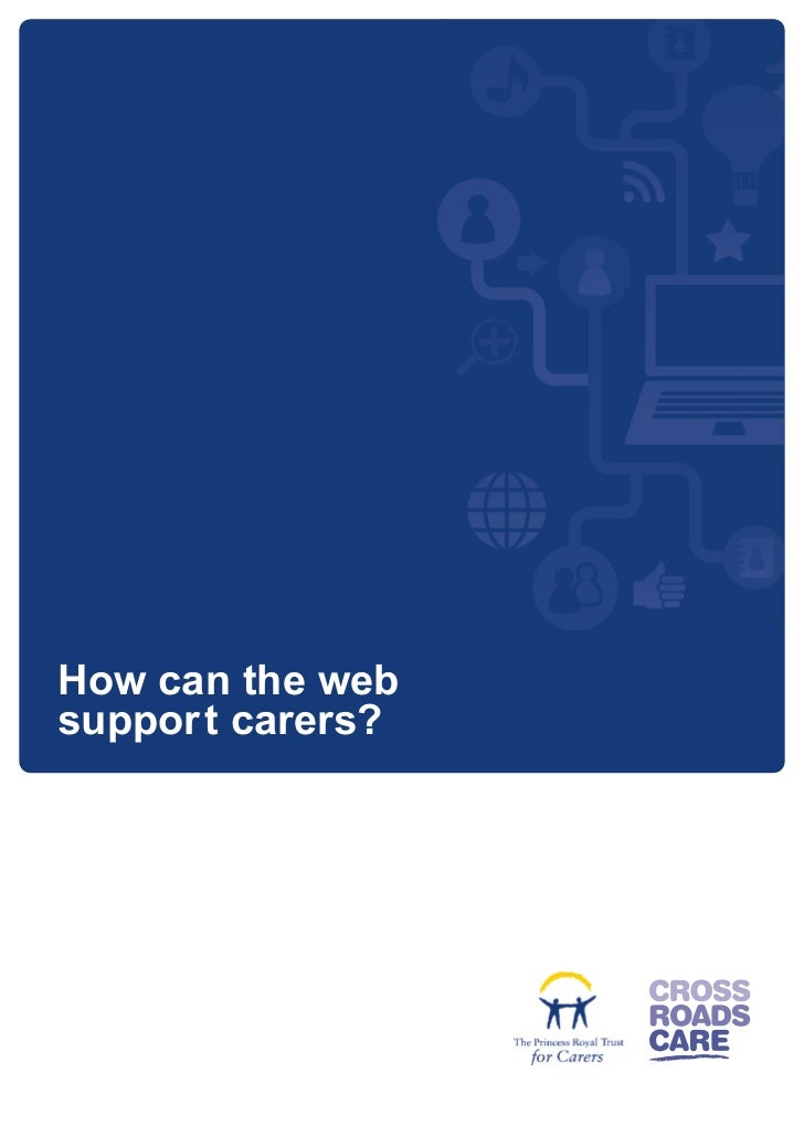 How can the websuppor t carers?