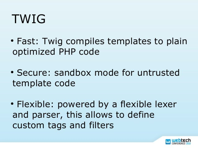 php template inheritance - twig the flexible fast and secure template language for php