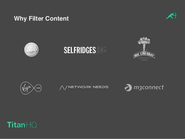 TitanHQ WebTitan Web Filtering Presentation at Wifi Now London 2016 - DNS Filtering, the future of web content filtering  Slide 3
