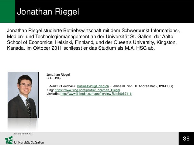 Jonathan RiegelJonathan Riegel studierte Betriebswirtschaft mit dem Schwerpunkt Informations-,Medien- und Technologiemanag...