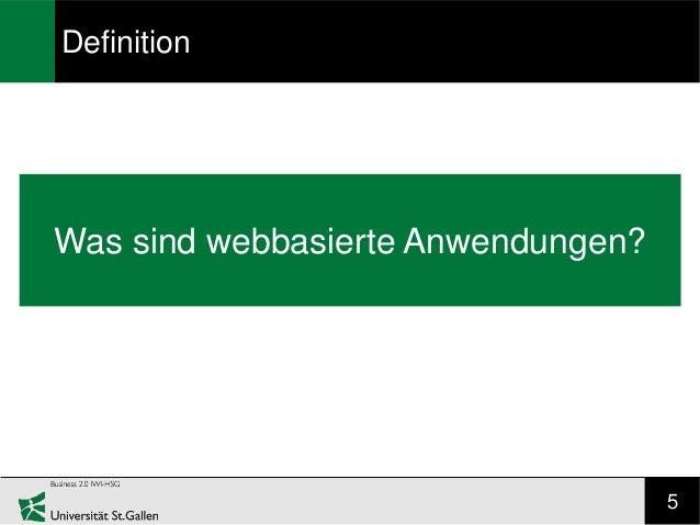 DefinitionWas sind webbasierte Anwendungen?                                    5