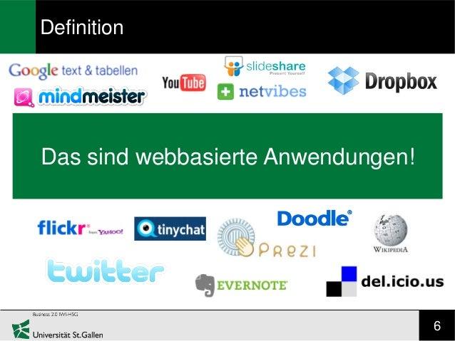 DefinitionDas sind webbasierte Anwendungen!                                    6