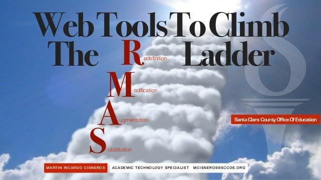 ACADEMI C TECHNOLOG Y SPECIALI ST MCISNE R OS@SCCO E.OR GMARTIN RI CA RDO CI SNEROS WebToolsToClimb The Ladder S A M R ubs...