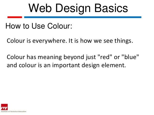 web topic 10 2 web design basics