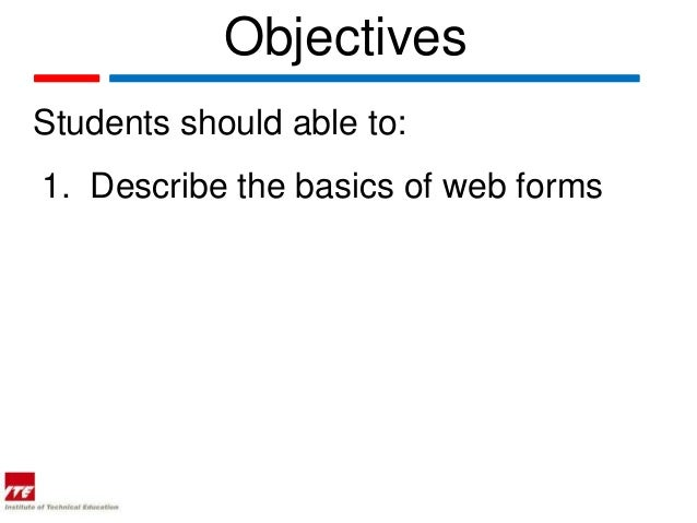 Web topic 19  web forms in html Slide 2