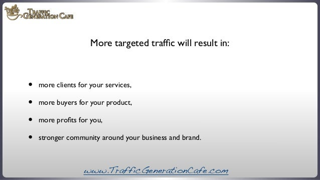 How to Increase Website Traffic: The Ultimate Blueprint Slide 3