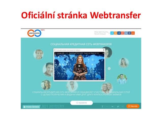 Webtransfer   2 - registrace Slide 2