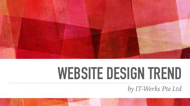Website design trend 2016 for Hotel decor trends 2016