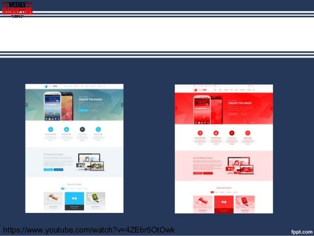 latest web design trends 2017