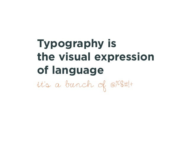 Web typography for non designers Slide 2