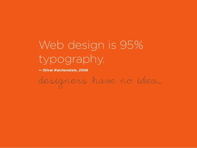 Web typography for non designers Slide 3