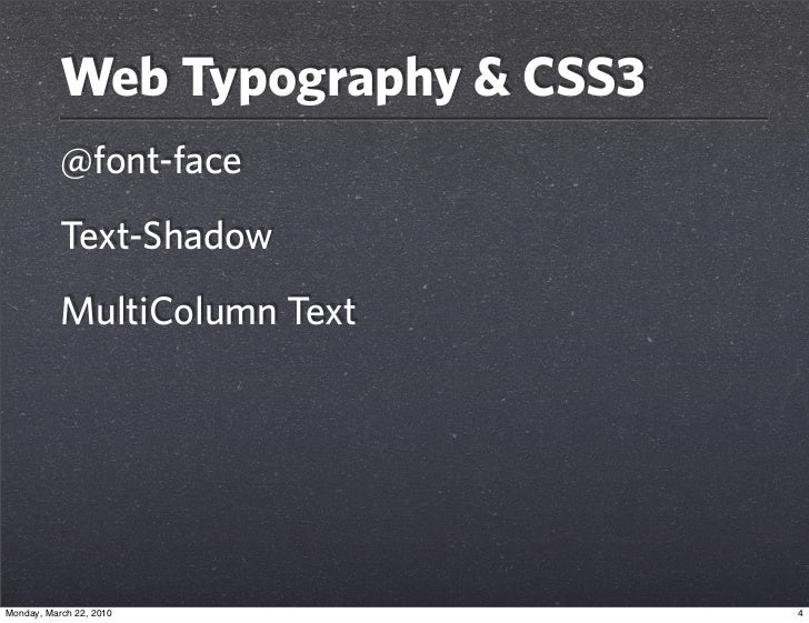 css3 typography 28 images css typography experiment nicolas gallagher css3 text effect and