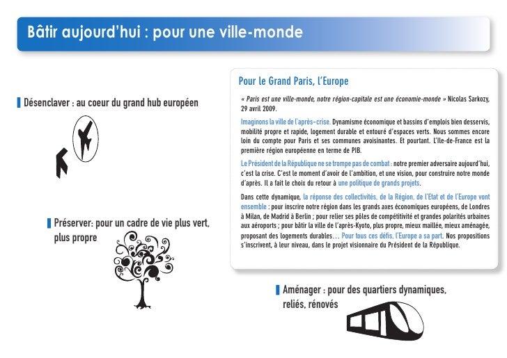 Notre projet européen pour l'Ile de France Slide 3
