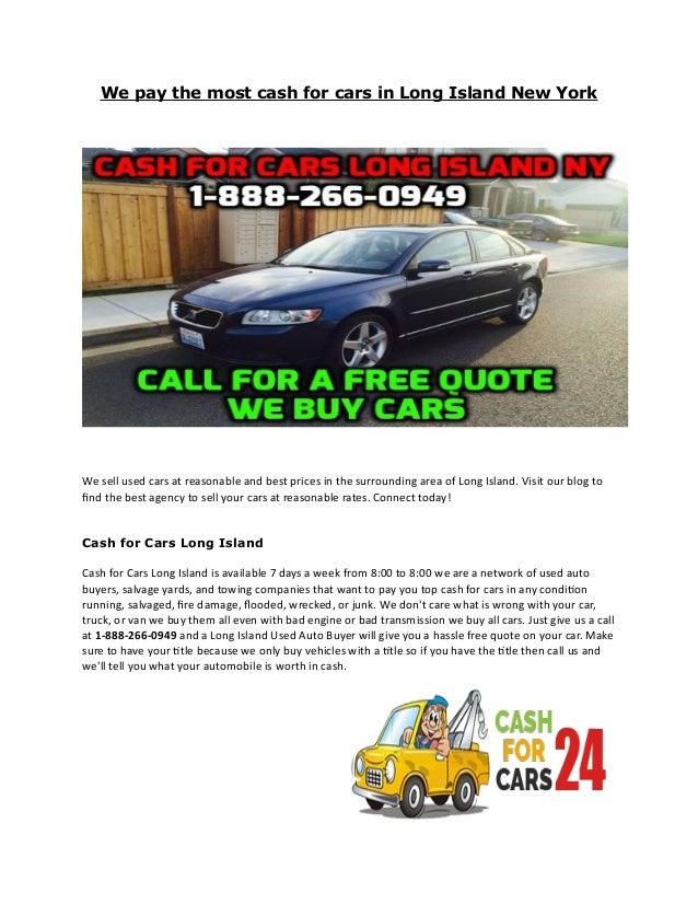 Used Cars Long Island Ny >> We Buy Cars Long Island