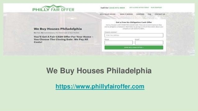 We Buy Houses Philadelphia https://www.phillyfairoffer.com