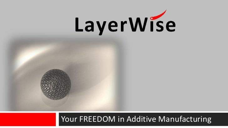 Your FREEDOM in Additive Manufacturing