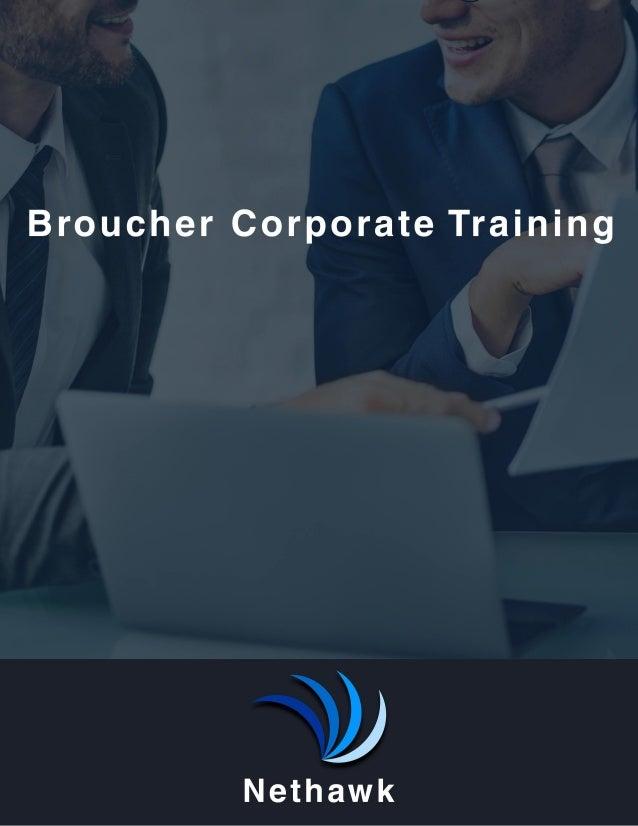 Nethawk Training Broucher