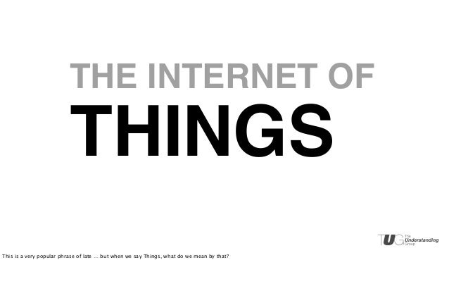 Taming Context in the Internet of Things Slide 3