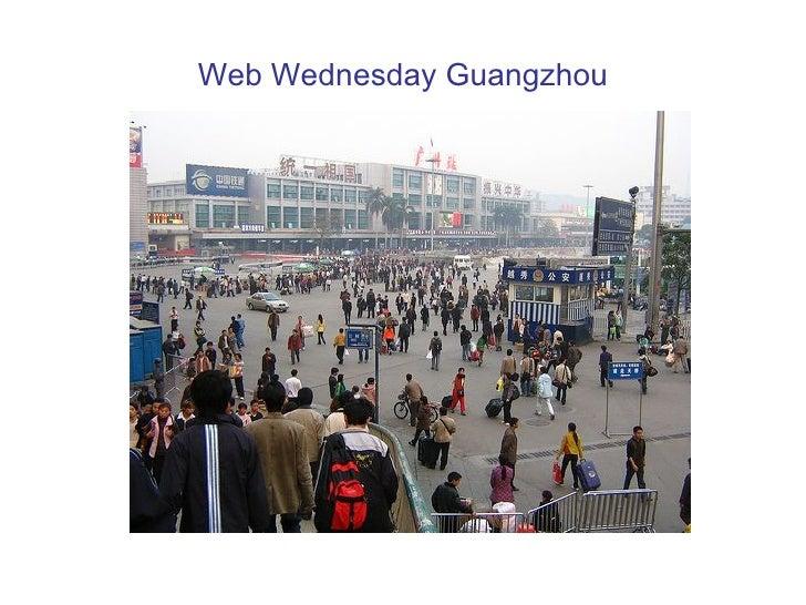 Web Wednesday Guangzhou