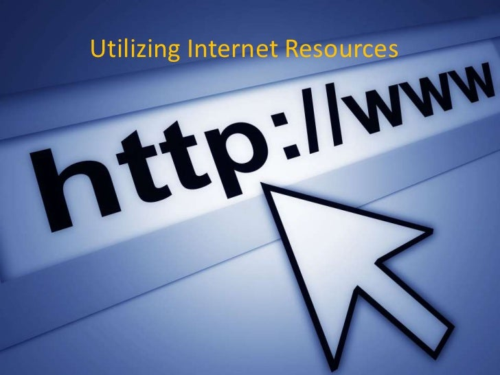 Utilizing Internet ResourcesPaul D. Page, M.A., M.L.S.