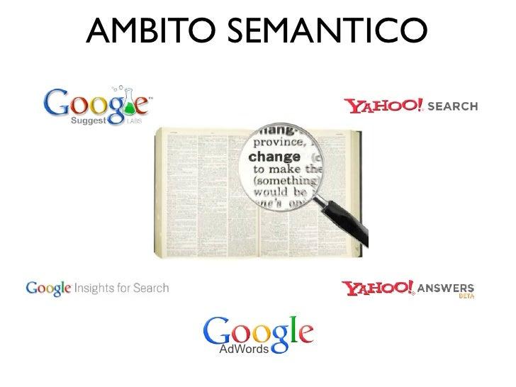 AMBITO SEMANTICO      AdWords