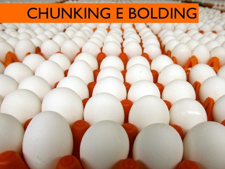 CHUNKING E BOLDING