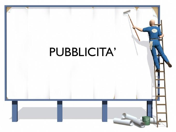 PUBBLICITA'