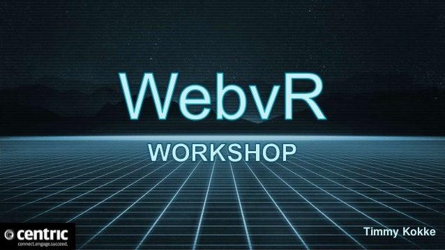 A-Frame web framework for building virtual reality experiences