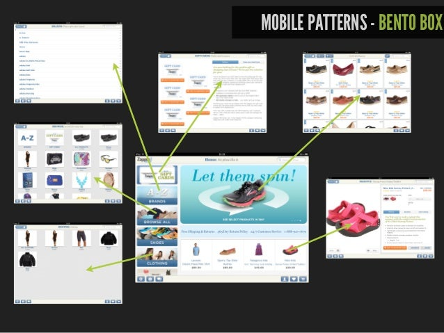MOBILE PATTERNS - FILTERED VIEW source: uxbooth.com