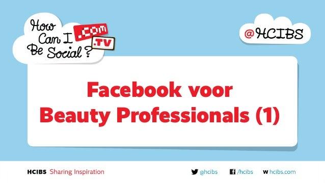 Facebook voor  Beauty Professionals (1)