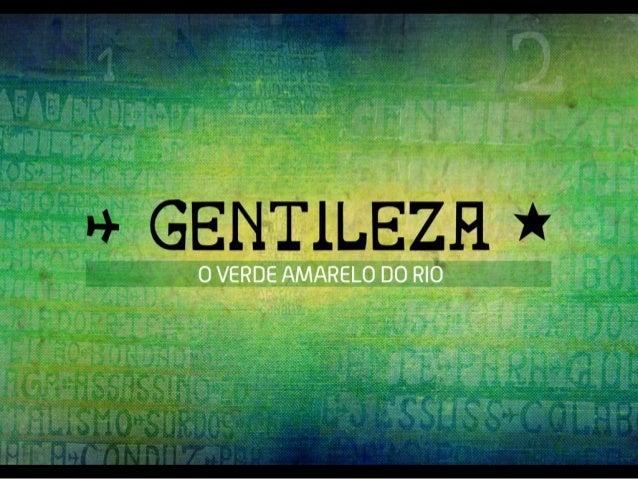 WEC1/2015 - GENTILEZA