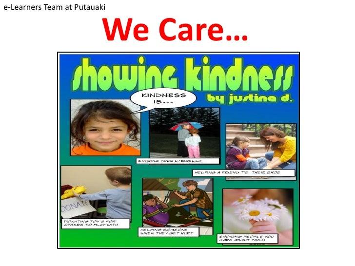 e-Learners Team at Putauaki                            We Care…