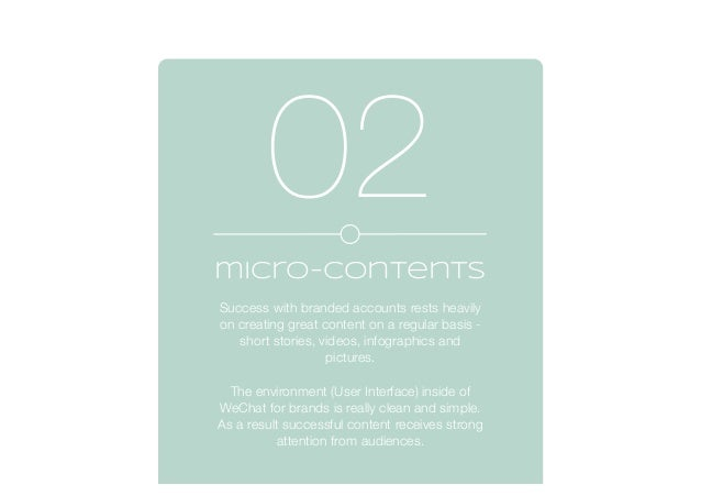 micro-contents Success with branded accounts rests heavily on creating great content on a regular basis - short stories, v...