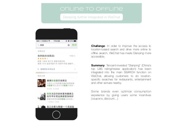 Challenge: In order to improve the access to location-based search and drive more online to offline search, WeChat has mad...