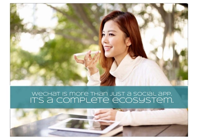 wechat is more than just a social app. It's a complete ecosystem.