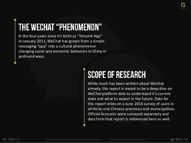 """In the four years since it's birth as """"Tencent App"""" in January 2011, WeChat has grown from a simple messaging """"app"""" into a..."""