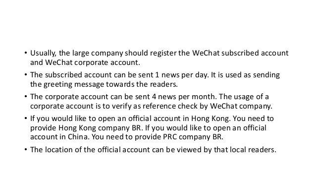 WeChat operation Slide 3