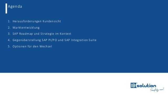 Herausforderungen beim Umstieg von SAP PI/PO zur SAP Cloud Integration Slide 3