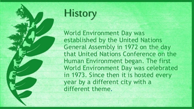 World Environment Day 2014 Importance And Significance