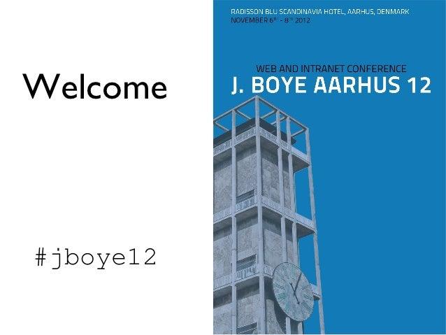 Welcome#jboye12
