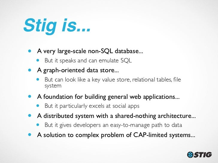 Stig: Social Graphs & Discovery at Scale