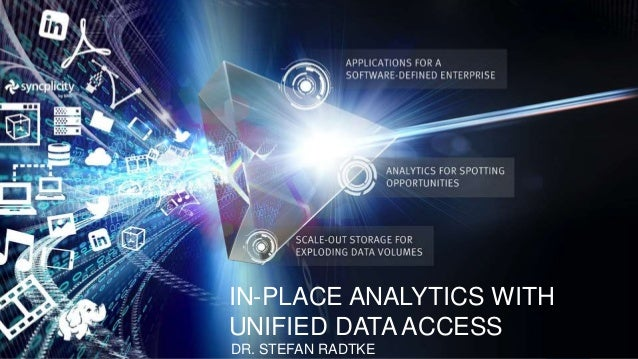 In-Place analytics with Unified Data Access