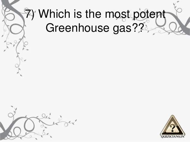 Environment Day Quiz by Quizicians for Class 6 &7