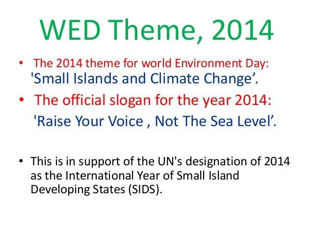 World Environment Day2014