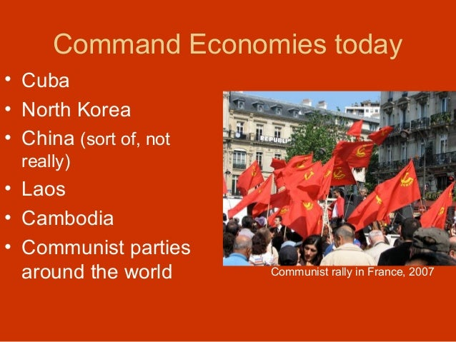 free market vs command economy Market vs command economy  the most fundamental distinction between the two is the existence of private property in the free market and the absence.
