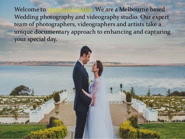 Welcome to Aperture Studios. We are a Melbourne based Wedding photography and videography studio. Our expert team of photo...