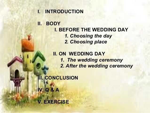 BEFORE WEDDING                    CHOOSING DAYSaturday is considered the most     Monday for wealthfavored day to marry. ...